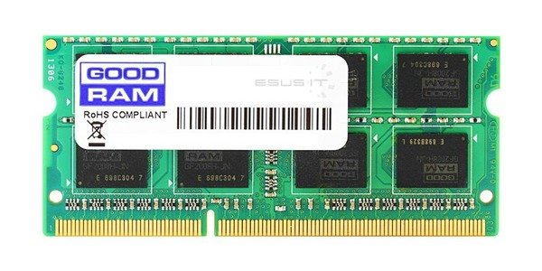 Memory RAM 1x 4GB GoodRAM SO-DIMM DDR2 800MHz PC2-6400 | GR800S264L6/4G