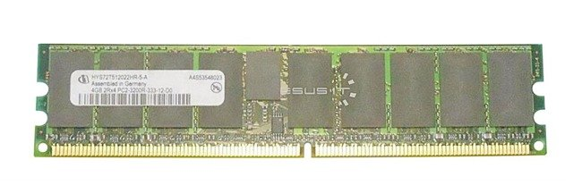 Memory RAM 1x 4GB QIMONDA ECC REGISTERED DDR2  400MHz PC2-3200 RDIMM | HYS72T512022HR-5-A
