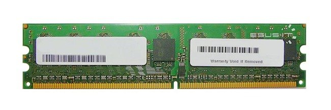 Memory RAM 2x 2GB Kingston ECC UNBUFFERED DDR2  800MHz PC2-6400 UDIMM | KVR800D2E5K2/4G